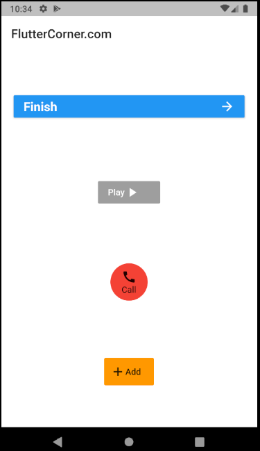 button with text and icon in flutter, round button with text and icon in flutter, How To Make Round button with text and icon in flutter